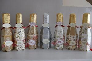 Bouteilles de champagne